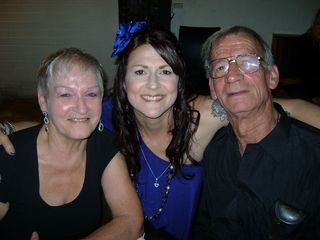 Me dad and Colleen