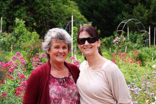 Mum and Evana